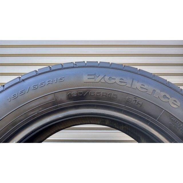 Goodyear(グッドイヤー)のGY 195/65R15 EXCELLENCE タイヤ 4本 グッドイヤー 自動車/バイクの自動車(タイヤ)の商品写真