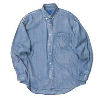 BEAMS - BEAMS 18AW デニムイージーボタンダウンシャツ メンズ