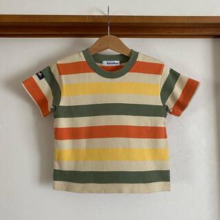 familiar - ファミリア ボーダー Tシャツ 100 半袖 トップス