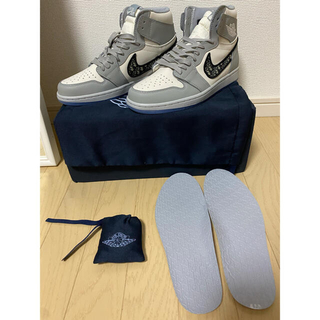 Dior x Nike Air Jordan 1 High OG EU 42.5(スニーカー)