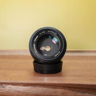 ニコン(Nikon)の【光学美品】Nikkor ai-s 50mm f1.4 人気の単焦点(レンズ(単焦点))