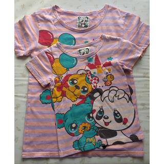 グラグラ(GrandGround)のグラグラ 親子ペア 姉妹 お揃い Tシャツ(Tシャツ/カットソー)
