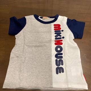 mikihouse - 新品タグ付き ミキハウス ロゴ Tシャツ 90