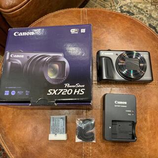 Canon - キャノン CANON サイバーショット SX720HS デジカメ 動作確認済