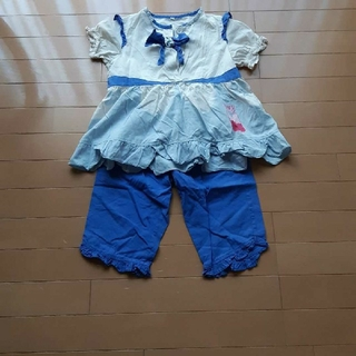 バンダイ(BANDAI)のバンダイハートキャッチプリキュアなりきり半袖パジャマ110サイズ(パジャマ)