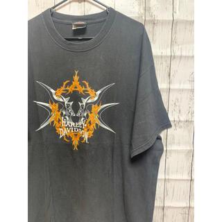 ハーレーダビッドソン(Harley Davidson)のHarley-Davidson. ヴィンテージ Tシャツ 刺繍(Tシャツ/カットソー(半袖/袖なし))