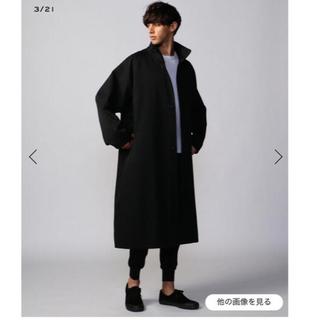 TOMORROWLAND - 期間限定値下げ❗️2020aw新品同様 cabanギャバン ウールコート黒