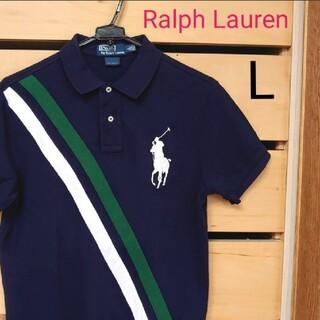 Ralph Lauren - Ralph Lauren ポロシャツ ☆ビッグポニー刺繍ロゴ☆ size.L