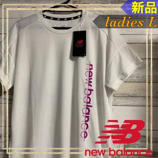 New Balance - new balanceニューバランス ショートスリーブTシャツ レディースL新品