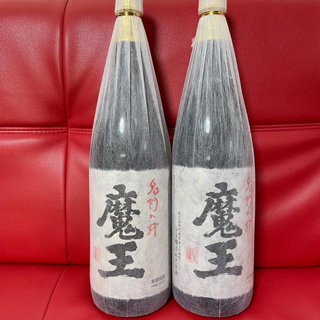 魔王 1800ml 2本 食品/飲料/酒の酒(焼酎)の商品写真
