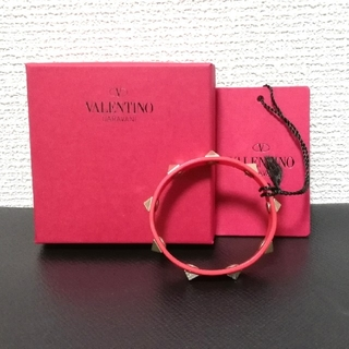 ヴァレンティノガラヴァーニ(valentino garavani)のノベルティ ヴァレンティノ ブレスレット 未使用 新品(ブレスレット/バングル)