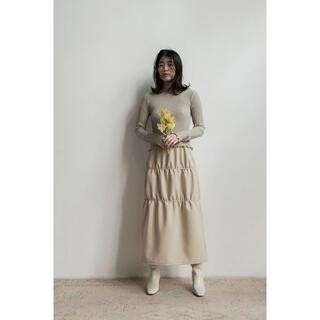 Ron Herman - MEER.  メーア  Double gathered skirt  スカート