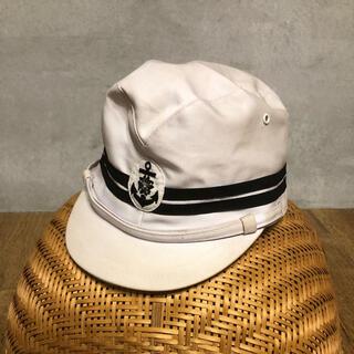 希少!海軍一種略帽 旧日本軍 海兵隊第二次世界大戦 海軍略帽 帽子 男達の大和(戦闘服)
