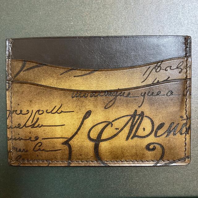 Berluti(ベルルッティ)のBerluti カードケース メンズのファッション小物(名刺入れ/定期入れ)の商品写真