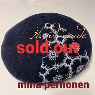 ミナペルホネン(mina perhonen)のミナペルホネンベレー帽ミナペルホネンアネモネ(帽子)