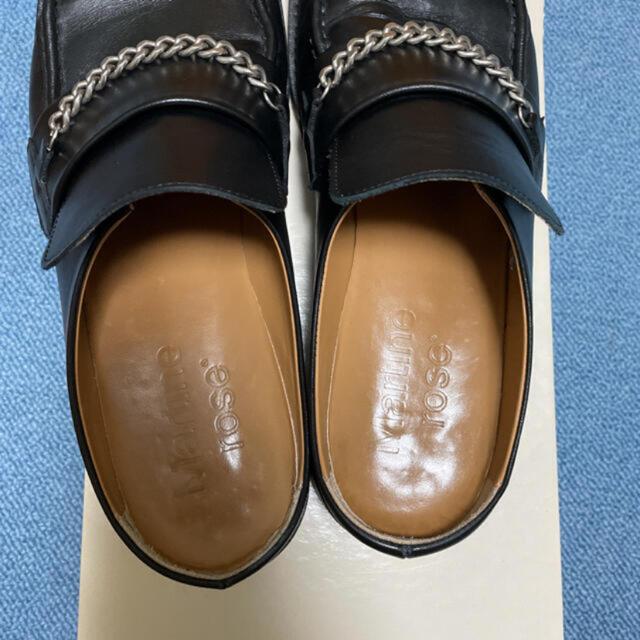 JOHN LAWRENCE SULLIVAN(ジョンローレンスサリバン)のマーティンローズ ミュール ローファー メンズの靴/シューズ(ドレス/ビジネス)の商品写真