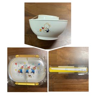ファミリア(familiar)のfamiliar ランチボックス&お弁当箸&子供茶碗(プレート/茶碗)