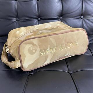 MARK&LONA - MARK&LONA マークアンドロナ シューズケース ゴールド カモフラ 美品