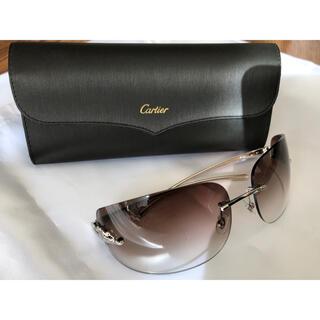 Cartier - カルティエ パンサーメタル サングラス