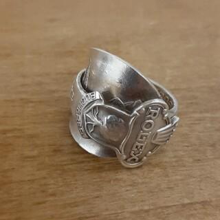 ロレックス(ROLEX)のROLEX スプーンリング 80s アンティーク 21号 ヴィンテージ 指輪(リング(指輪))
