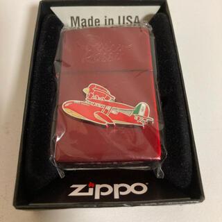紅の豚 ジッポー ZIPPO オイルライター ジブリ アメリカ製 赤 ポルコ