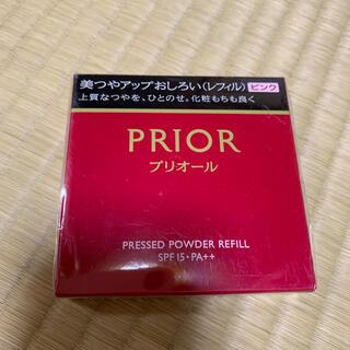 プリオール(PRIOR)のプリオール 美つやアップおしろい ピンク(レフィル)(フェイスパウダー)