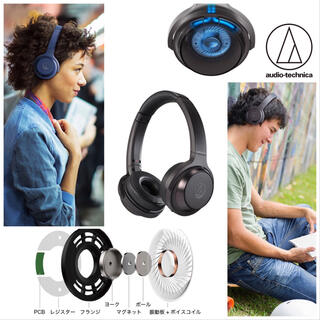 audio-technica - [新品] オーディオテクニカ ワイヤレスヘッドホン ATH-WS330BT