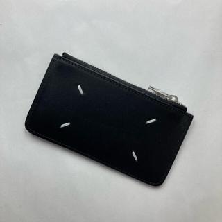 マルタンマルジェラ(Maison Martin Margiela)のメゾンマルジェラ フラグメントケース コインケース カードケース ブラック(コインケース/小銭入れ)