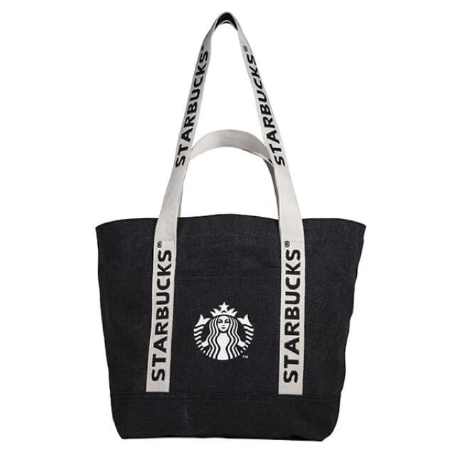 Starbucks Coffee(スターバックスコーヒー)の台湾 スターバックス 21 ブラック トートバッグ レディースのバッグ(トートバッグ)の商品写真