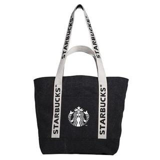 Starbucks Coffee - 台湾 スターバックス 21 ブラック トートバッグ
