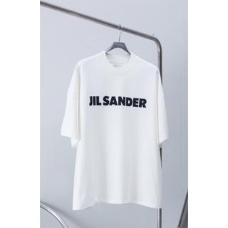 ジルサンダー(Jil Sander)の新品サイズM JIL SANDER ジルサンダーオーバーサイズ ロゴ Tシャツ(Tシャツ(半袖/袖なし))