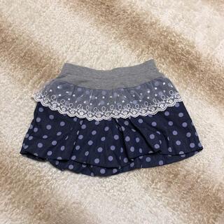 女の子 ショートパンツ キュロット スカート 120(パンツ/スパッツ)