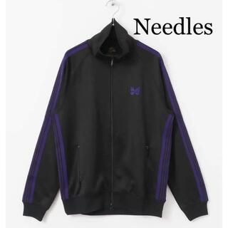 Needles - Needles トラックジャケット黒×紫 18AW 美品