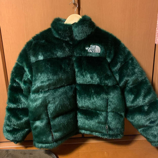 Supreme - シュプノース Faux Fur Nuptse Jacket S