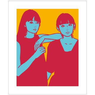 メディコムトイ(MEDICOM TOY)のKYNE Untitled B 版画 キネ(版画)