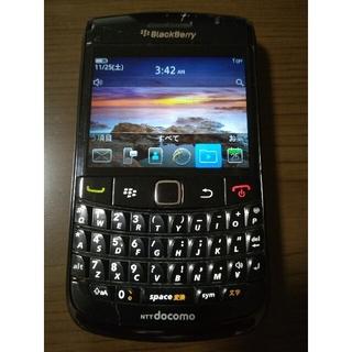 NTTdocomo - blackberry bold 9780 ブラックベリー ボールド 本体