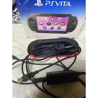 PlayStation Vita - PlayStation®Vita PCH-2000Wi-Fiピンクブラックモデル