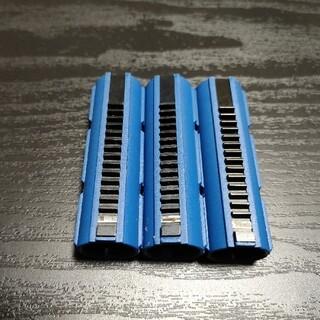 電動ガン フルメタルティース強化ピストン 14T 新品 3本セット(カスタムパーツ)