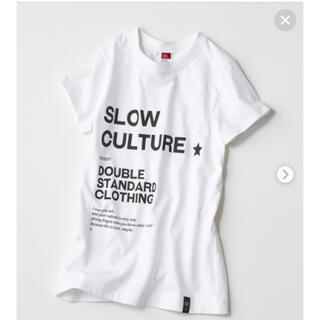 DOUBLE STANDARD CLOTHING - 新品タグ付 ダブルスタンダードクロージング DSC ロゴTシャツ