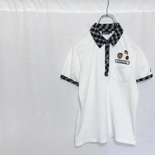 カッパ(Kappa)のkappa カッパ パッチ 半袖ポロシャツ レディース M ゴルフ ゴルフウェア(ウエア)