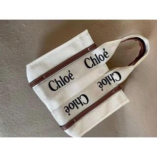 Chloe -  人気なChloe クロエ woody トートバッグ