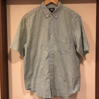 STUSSY - 90s vintage オールドステューシー インド製 チェックシャツ M