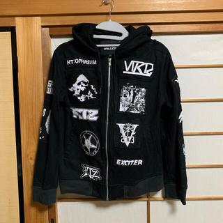 ココントーザイ(Kokon to zai (KTZ))の【古着】KTZ パーカー Tシャツ サルエルパンツ 全身セット セットアップ(Tシャツ/カットソー(半袖/袖なし))