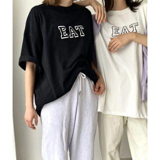 TODAYFUL - EAT ロゴTシャツ