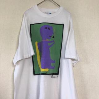 アートヴィンテージ(ART VINTAGE)の激レア Vintage art print T shirt ピカソ柄 古着 (Tシャツ/カットソー(半袖/袖なし))
