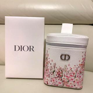 ディオール(Dior)のDior ディオール 非売品 ノベルティ ポーチ お花 ピンク (ノベルティグッズ)