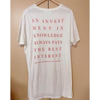 トゥデイフル(TODAYFUL)のTODAYFUL  トゥデイフル バックプリントTシャツ(Tシャツ(半袖/袖なし))