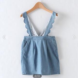 プティマイン(petit main)の新品 プティマイン  デニムスカート 110(スカート)