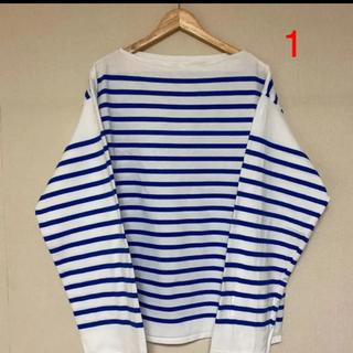ワンエルディーケーセレクト(1LDK SELECT)の新品 outil tricot aast バスクシャツ サイズ1(Tシャツ/カットソー(七分/長袖))