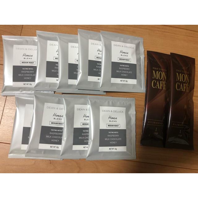 DEAN & DELUCA(ディーンアンドデルーカ)のDEAN & DELUCA ドリップコーヒー 9袋 モンカフェ 2袋 食品/飲料/酒の飲料(コーヒー)の商品写真